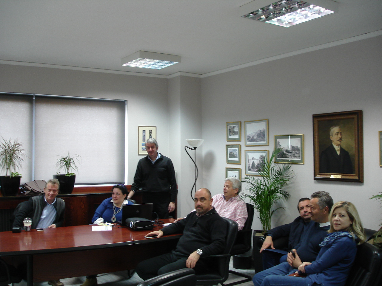 Meeting with Municipality of Lavreotiki, Greece