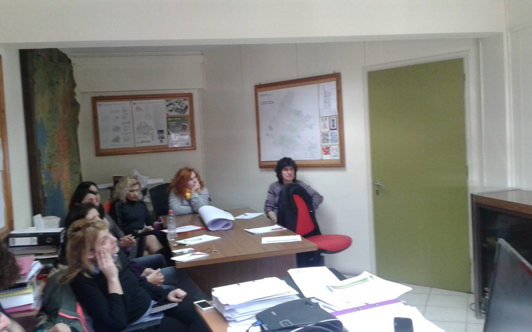 Meeting with Municipality of Athens, Greece